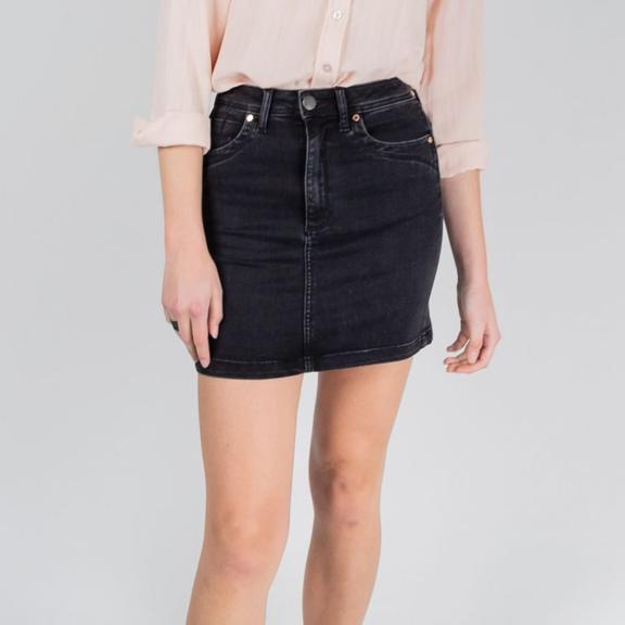 Leah high waisted skirt - Black Sheep