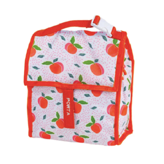 Summer Fun Insulated lunch Bag - Peachy Fun