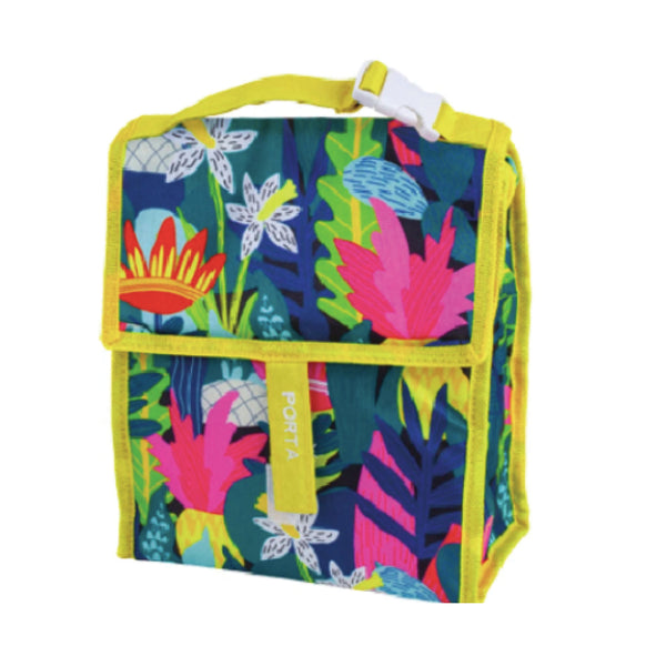 Summer Fun Insulated lunch Bag - Tropic