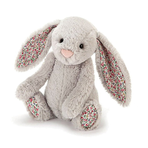 Blossom Bashful Silver Bunny - Medium