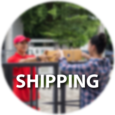 How we work, shipping