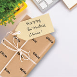 Personalised Kraft Wrapping Paper - Olivia