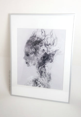 Home Decor Smoky Nymph art print - Living in Style with Olga