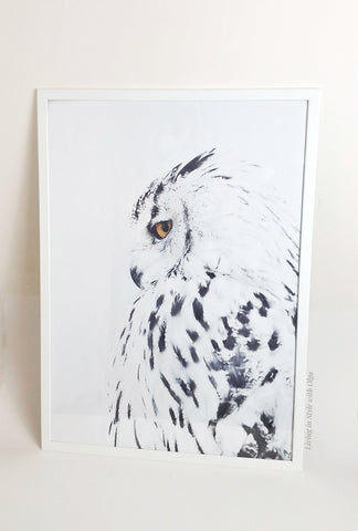 Home Decor Owl art print - Living in Style with Olga
