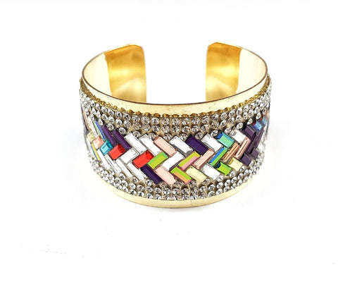 Kaleidoscope Bangle.