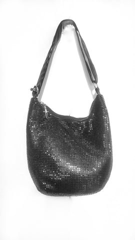Mesh bag, small black.