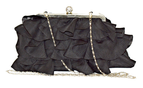 Clutch Ruffle Clutch - Living in Style with Olga