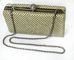 Clutch Cream Mesh Clutch - Living in Style with Olga