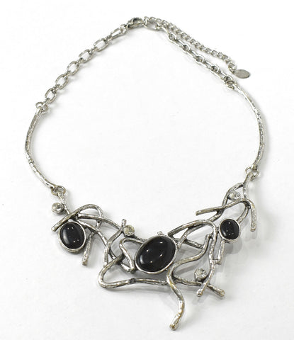 Necklace Vines Necklace, black. - Living in Style with Olga