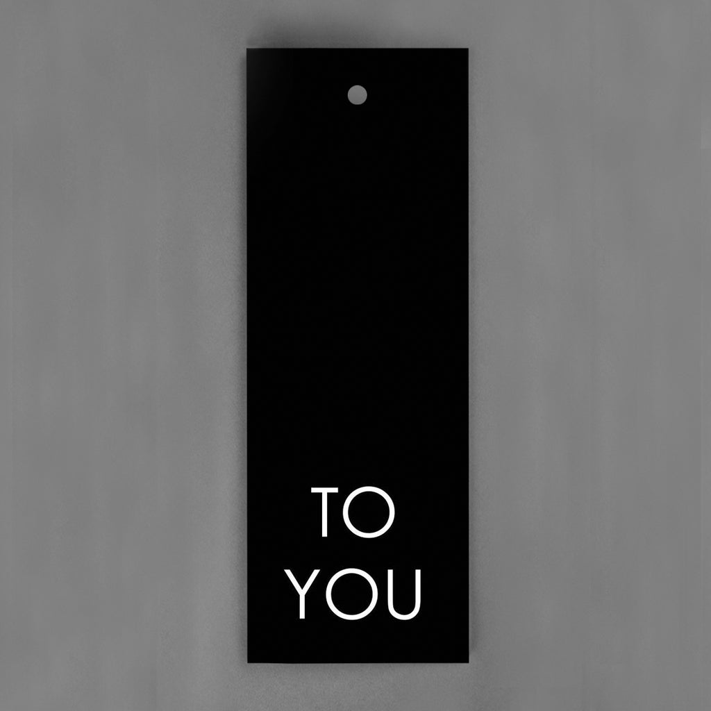 HANG-TAGS Collection - To you [30-pack]