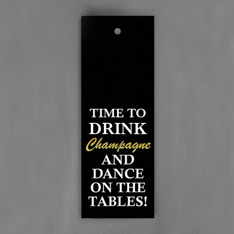 HANG-TAGS Collection - Time to drink champagne [30-pack]