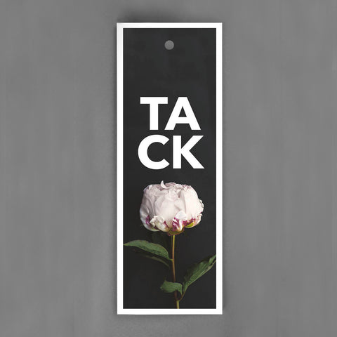HANG-TAGS Collection - Tack kort pion [30-pack]