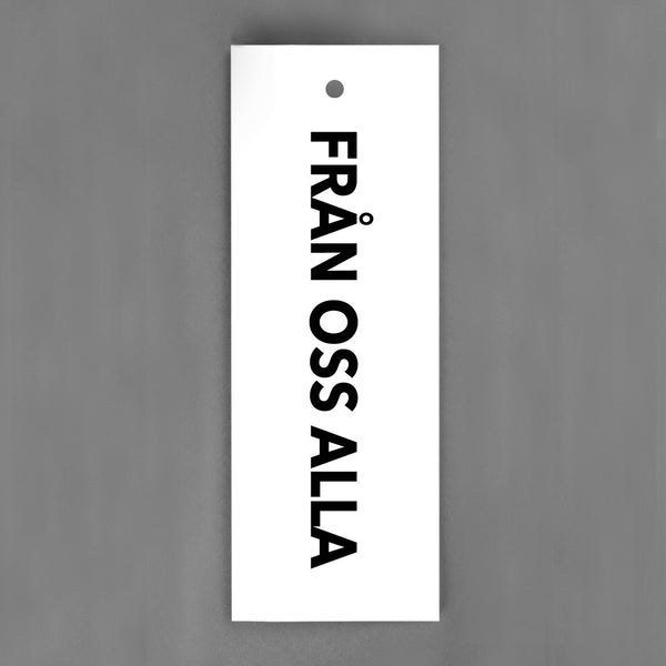 HANG-TAGS Collection - Från oss alla [30-pack]