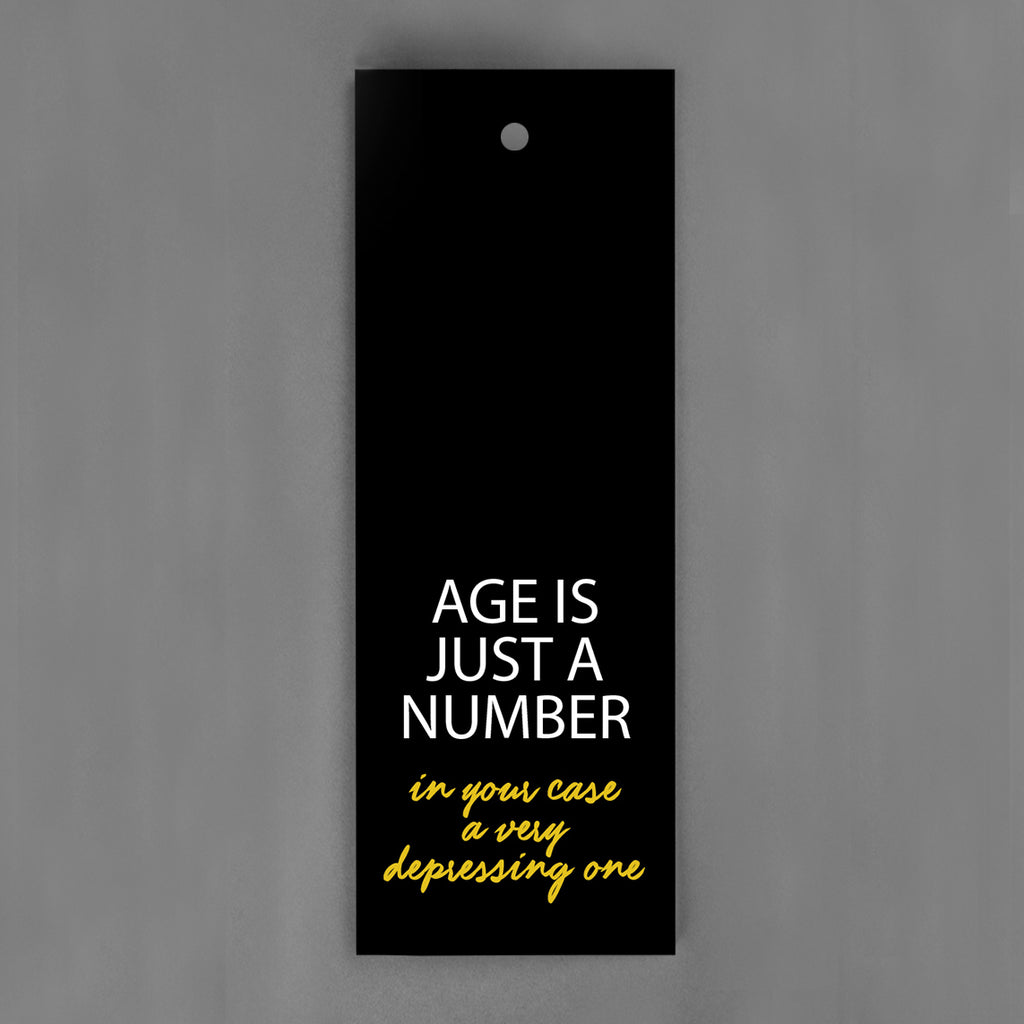 HANG-TAGS Collection - Age is just a number [30-pack]