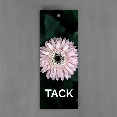 HANG-TAGS Collection - Tack rosa blomma [30-pack]