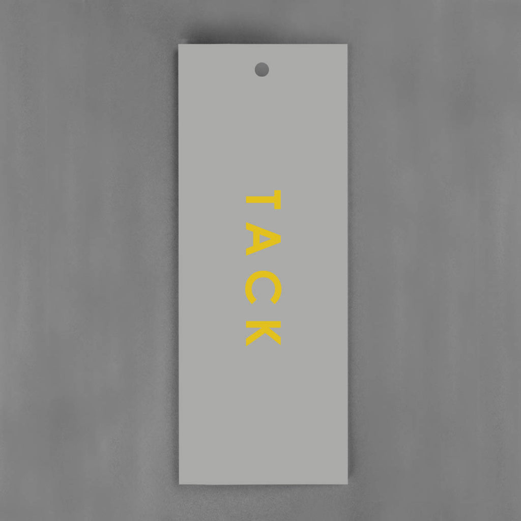 HANG-TAGS Collection - Tack grå & guld [30-pack]