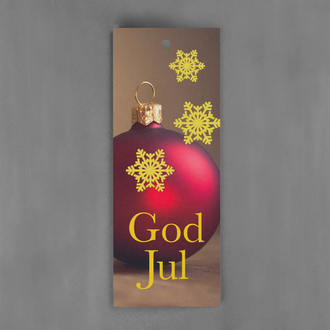 HANG-TAGS Collection - God Jul julgranskula [30-pack]