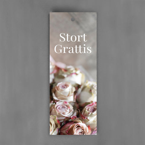 HANG-TAGS Collection - Stort grattis [30-pack]