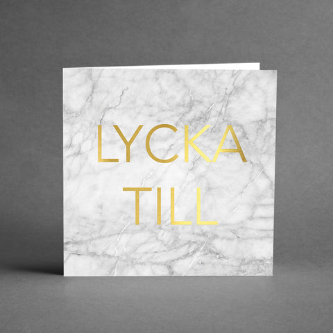 GRANDE Collection - Lycka till marmor [20-pack]
