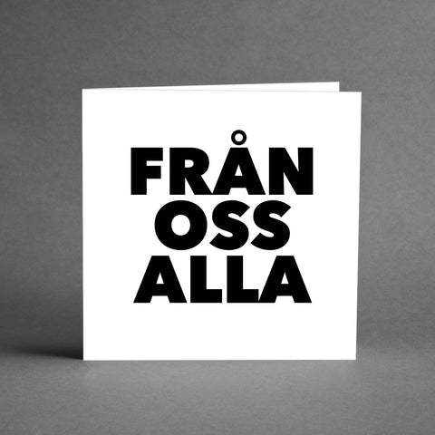 GRANDE Collection - Från oss alla [20-pack]