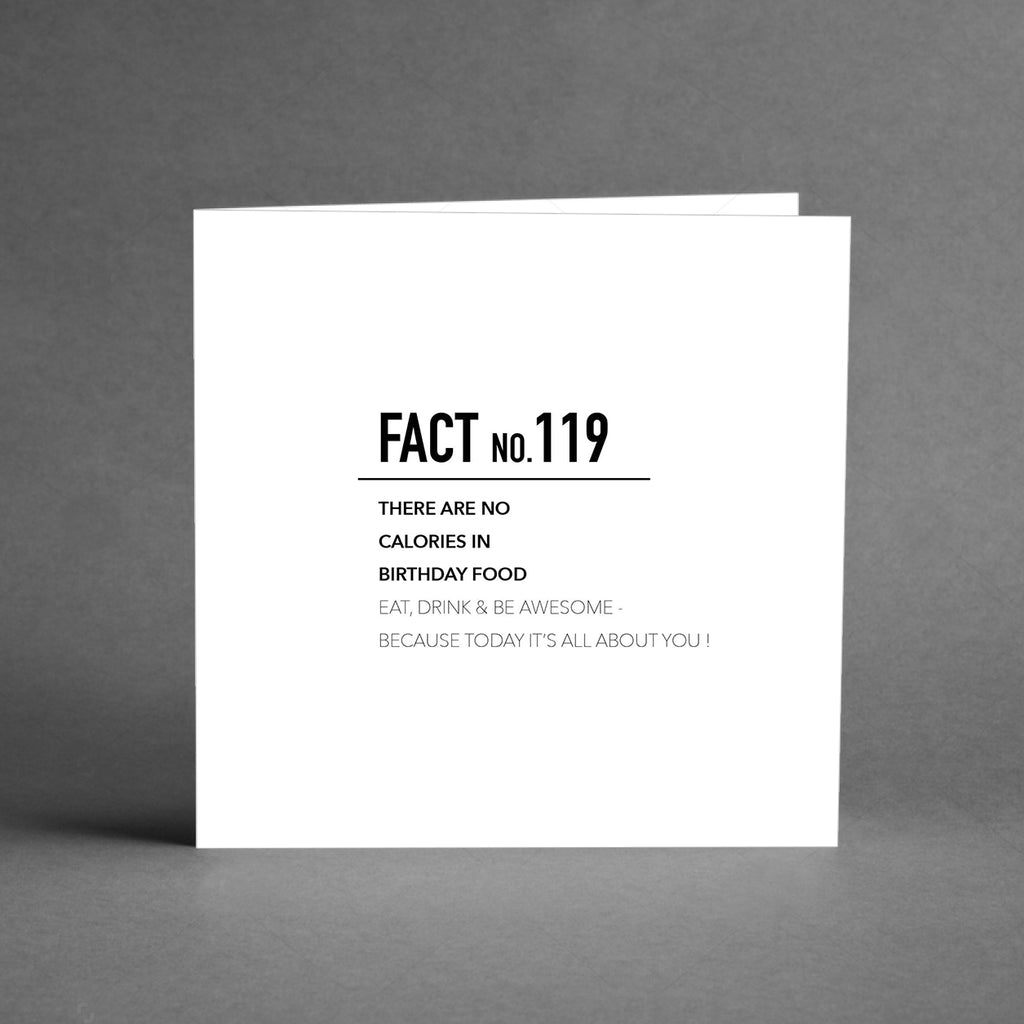 GRANDE Collection - Fact no. 119 [20-pack]