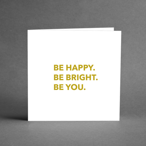 GRANDE Collection - Be happy Be bright Be you [20-pack]