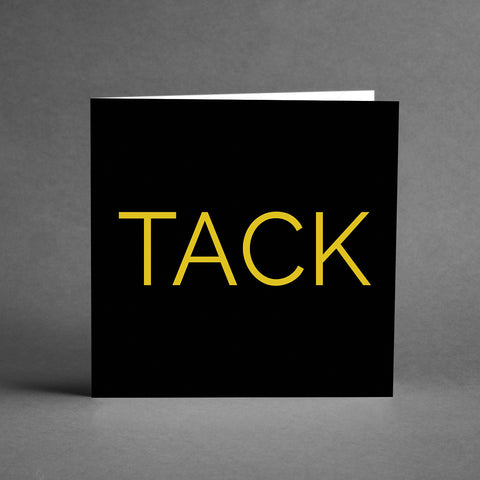GRANDE Collection - TACK svart/guld [20-pack]
