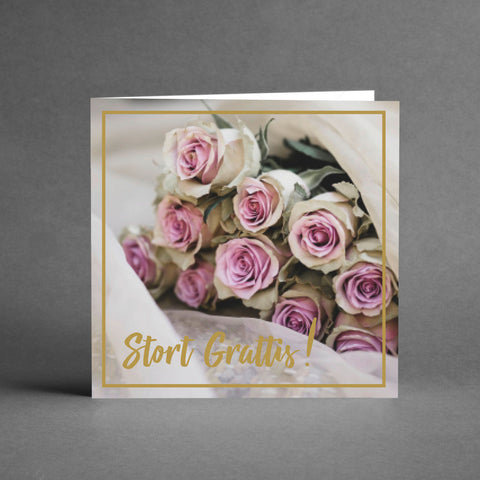 GRANDE Collection - Stort grattis [20-pack]
