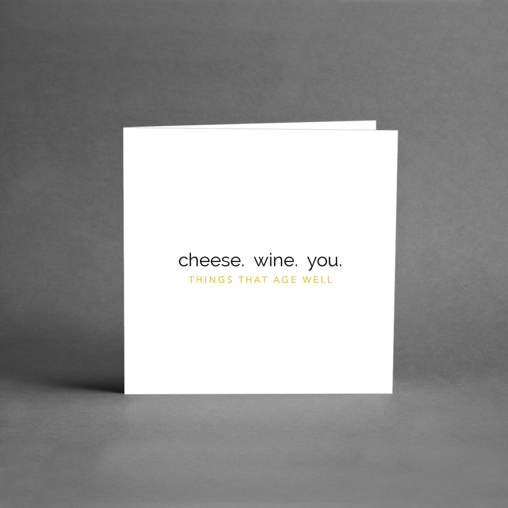 MINI Collection - Cheese. Wine. You. [25-pack]