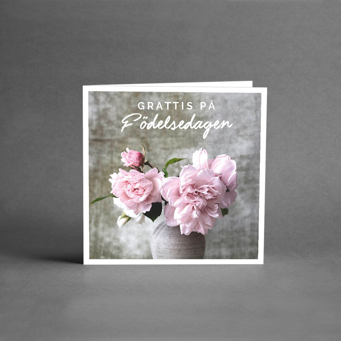 MINI Collection - Grattis på födelsedagen rosa [25-pack]