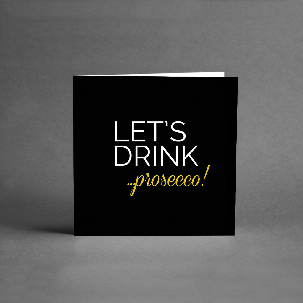 MINI Collection - Lets drink prosecco [25-pack]