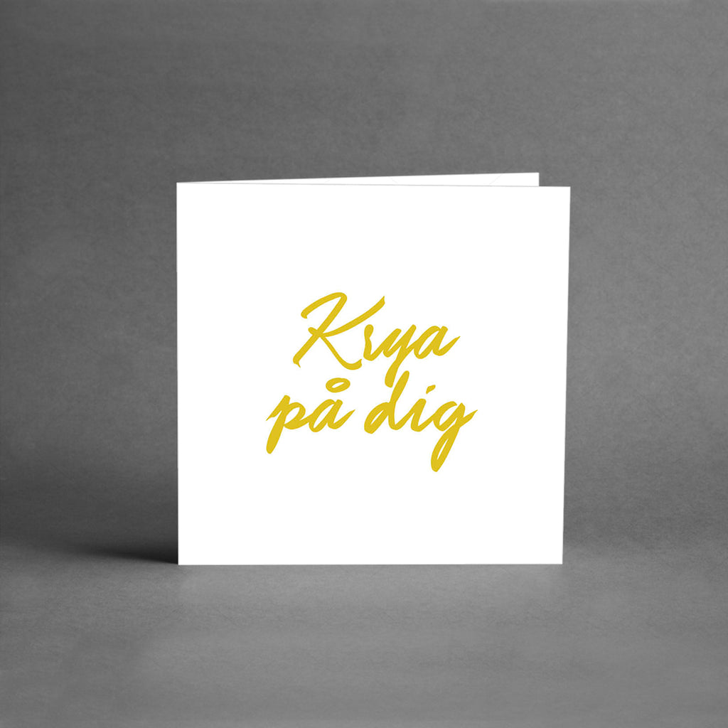 MINI Collection - Krya på dig vit/guld [25-pack]