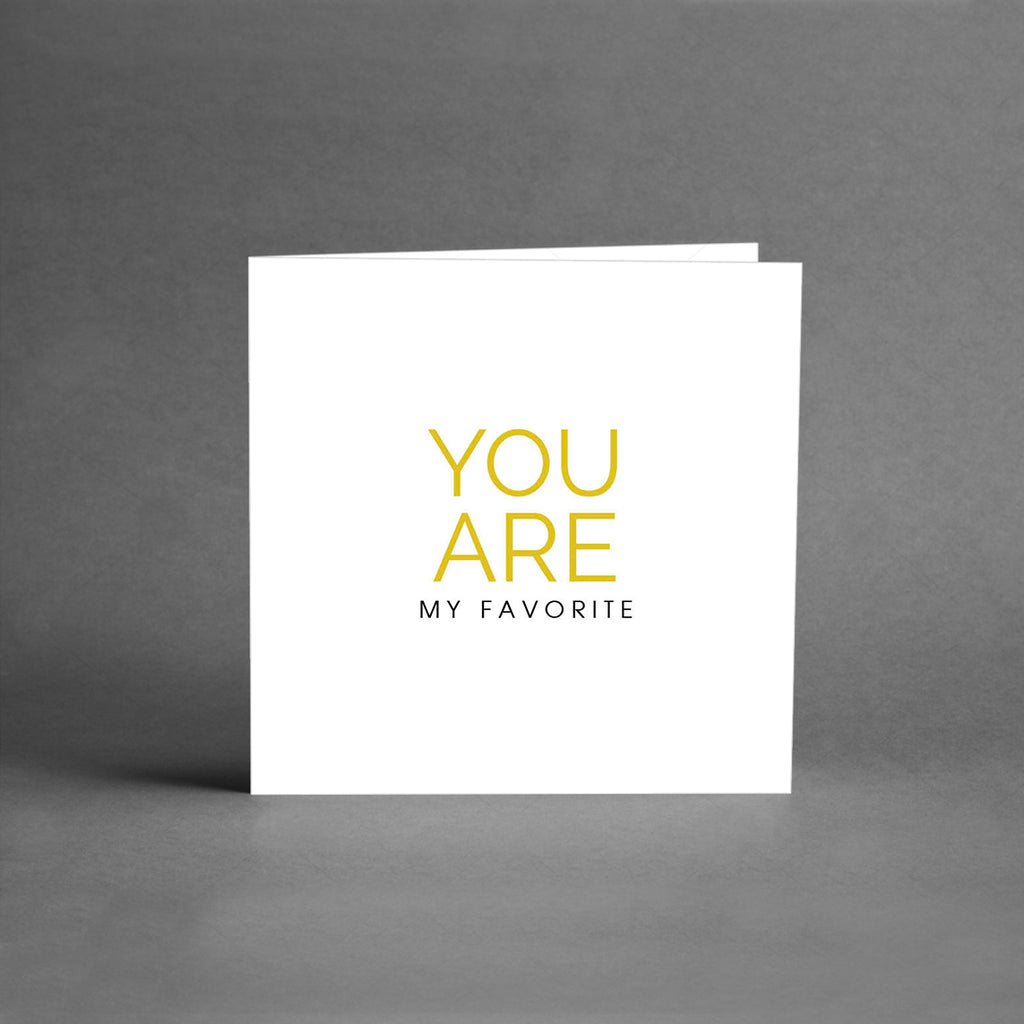 MINI Collection - You are my favorite [25-pack]