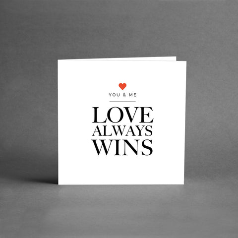 MINI Collection - Love always wins [25-pack]