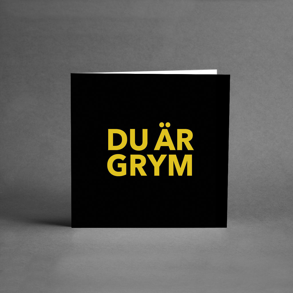 MINI Collection - Du är grym black/gold [25-pack]