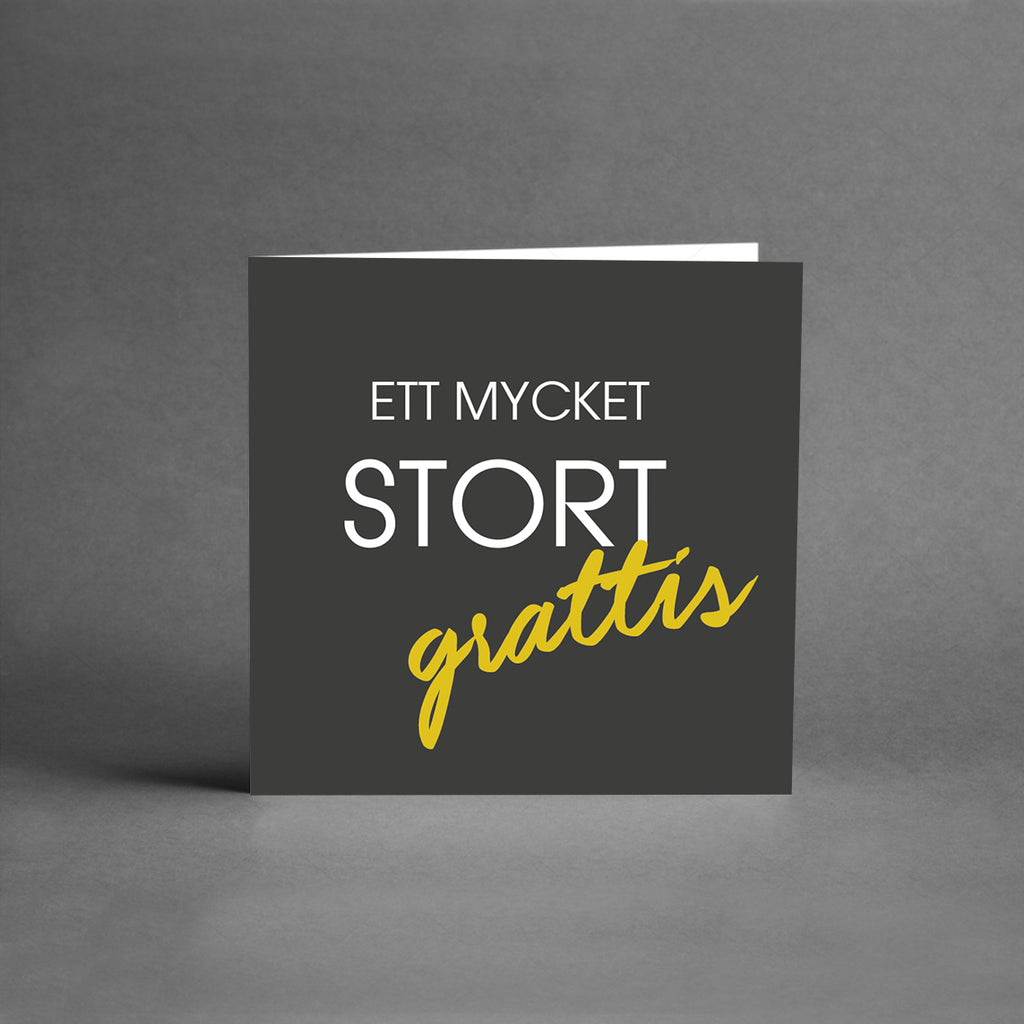 MINI Collection - Ett mycket stort grattis [25-pack]