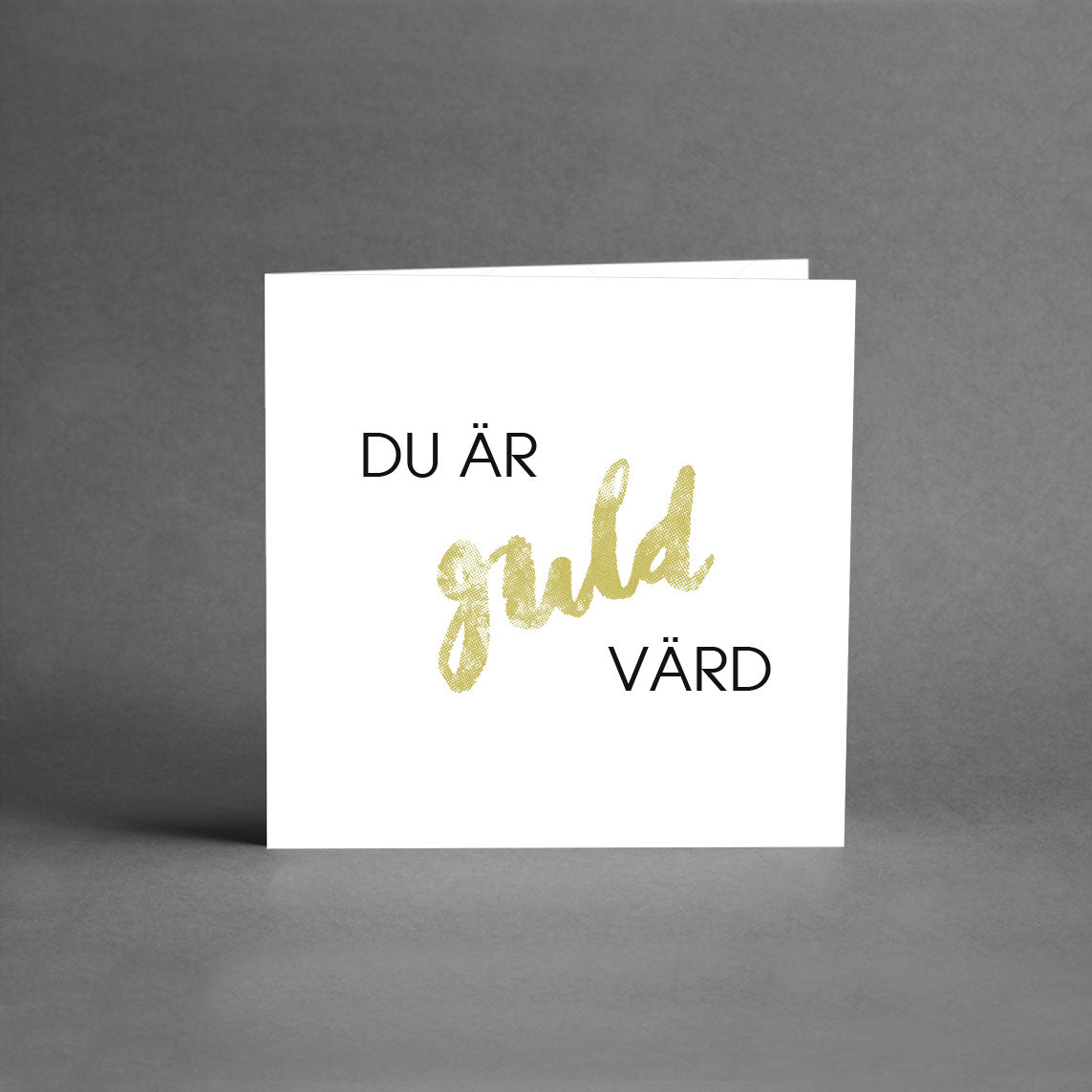 MINI Collection - Du är guld värd! [25-pack]