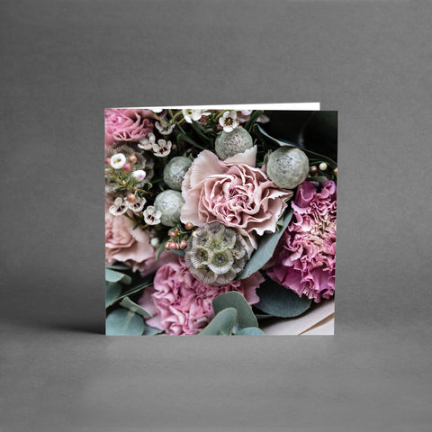 MINI Collection - Lila/Rosa blomsterkort [25-pack]