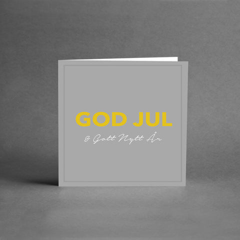 MINI Collection - God Jul grå & guld [25-pack]