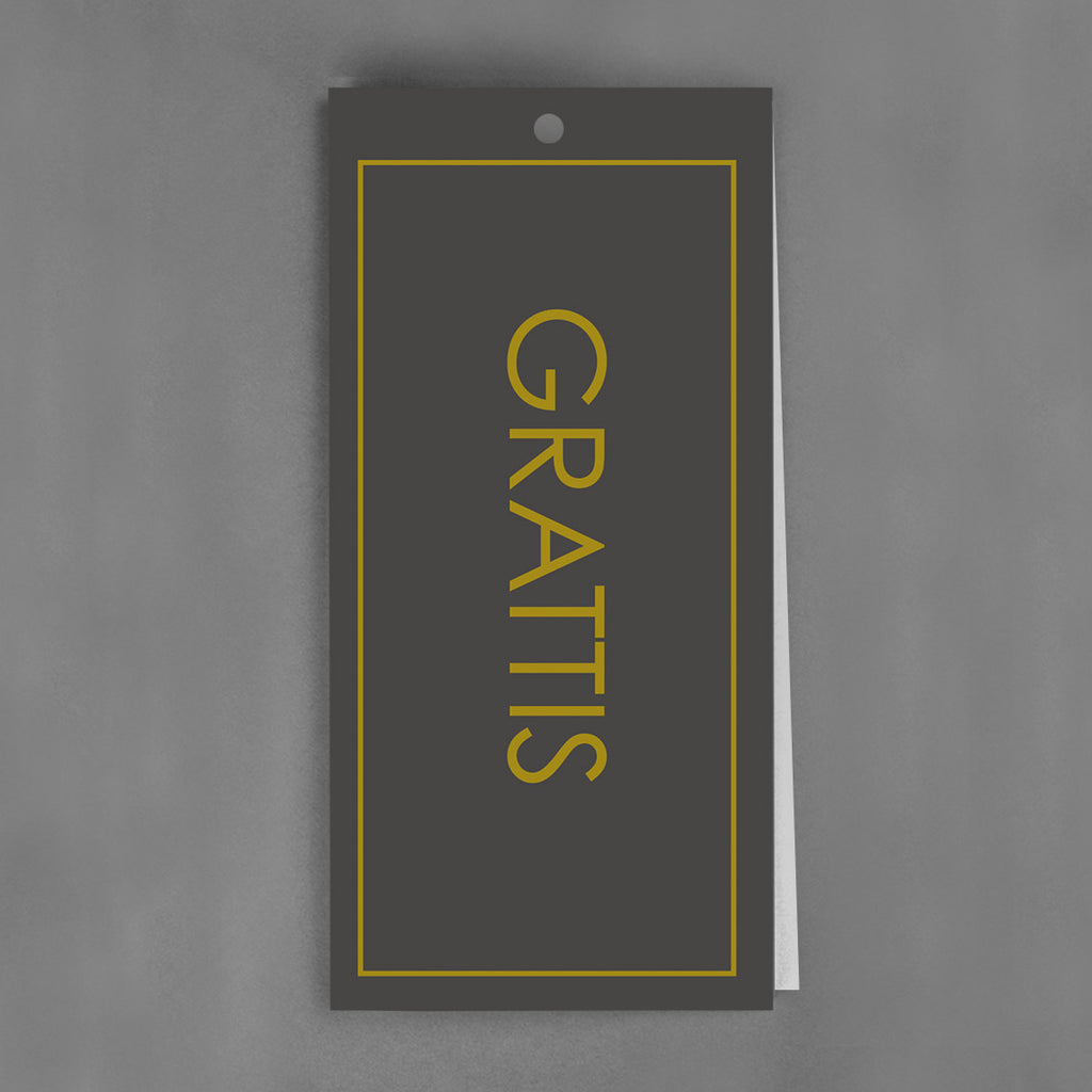 PREMIUM TAGS Collection - Grattiskort [25-pack]