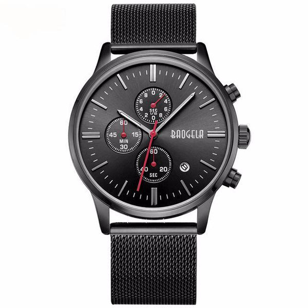 CHRONOGRAPH ALL BLACK