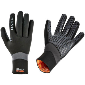 Bare Ultrawarmth 3mm Gloves - Go Dive Tasmania