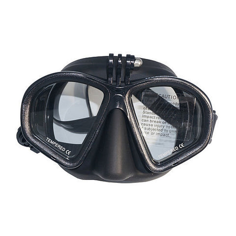 Hyperion Mako Mask with Go Pro Attachment - Go Dive Tasmania