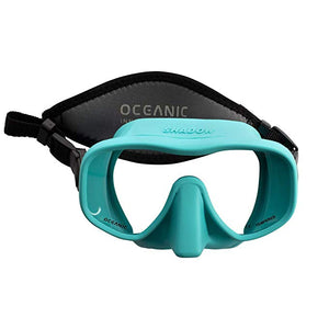 Oceanic Mini Shadow Mask Sea Blue - Go Dive Tasmania