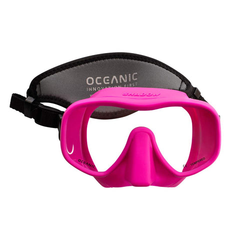 Oceanic Mini Shadow Mask Pink - Go Dive Tasmania