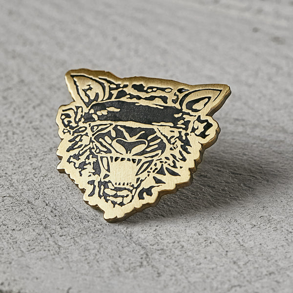 Blind Tiger Pin
