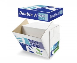 COPY PAPER DOUBLE A A4 80GSM WHITE CLEVERBOX 2500SHTS