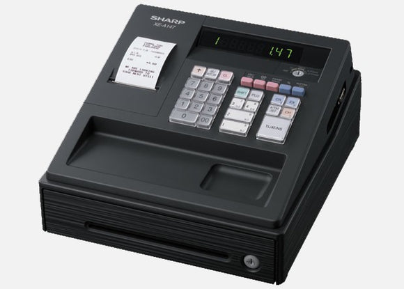 Sharp XEA147BK Cash Register Available in Black Or White