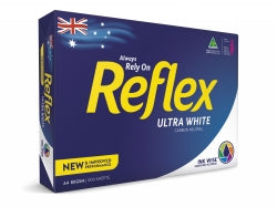 COPY PAPER REFLEX A4 80GSM WHITE PK500 CARTON OF 5 REAMS
