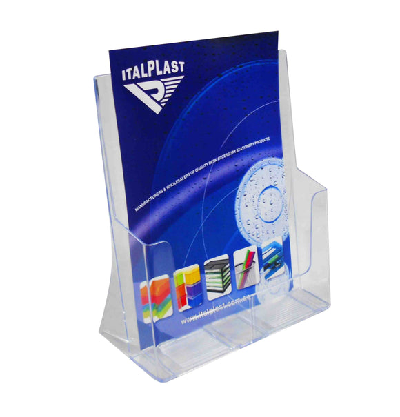 Deflecto I 550 A4 Brochure Holder